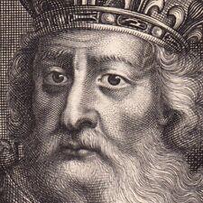 Portrait XVIIe Charlemagne Empereur d' Occident Francs  Καρλομάγνος Карл Великий