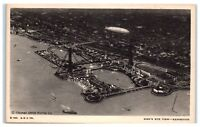 Aerial View of the 1933 Chicago World's Fair Exposition Postcard