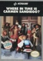 Where in Time is Carmen Sandiego? - Nintendo NES Game Authentic