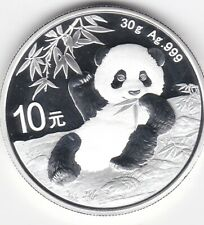 PANDA PAGODE 10 YUAN 2020 1 ONCE D'ARGENT CHINE..