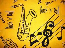 Notas musicales de instrumentos de TELA FQ Música Rock & Roll