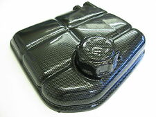 FORD FOCUS HEADERTANK COVER AND CAP CARBON FIBER ABS PLASTIC MK1 RS ST