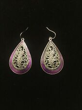 Premier Designs Jewelry Lilac Earrings * New