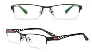 Unisex Photochromic Reading Glasses Rectangular Metal Readers Eyewears 0.25~6.0