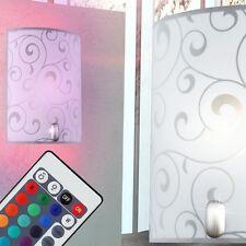 LED RGB 7W Lampe Murale Changeur de couleur Télécommande intensité variable