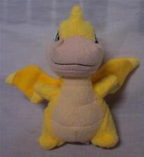 """McDonald's Neopets Yellow Scorchio 4"""" Plush Stuffed Animal Toy"""