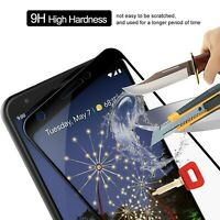 For Google Pixel 3a G020A Full Cover Tempered Glass Shockproof Screen Protector