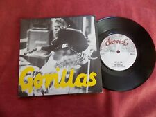 """THE GORILLAS She's my gal 7"""" PUNK Chiswick EX"""