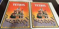 Tetris Arcade Game Side art decal set