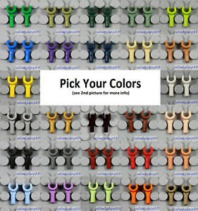 LEGO - Minifigure Hands - PICK YOUR COLORS Body Parts Lot Replacement Arms Town
