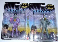 """Batman Dark Knight Dc the Joker & Tow Face Action Figures 4 1/2"""" Tall New 2008"""