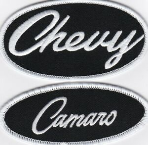 CHEVY CAMARO SEW/IRON ON PATCH EMBLEM BADGE EMBROIDERED IROC Z/28