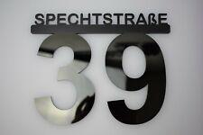 Hausnummer Acryl - Türschild - Büroschild - Hausschild - Nummernschild