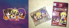 Fate/Stay Night UBW Rubber Mascot RIN TOHSAKA, SABER, SAKURA MATOU Licensed New