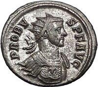 Probus  281AD  Authentic Ancient  Roman Coin Fides Trust Cult  i55631