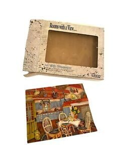 RECO 1998 Rooms with a View RUSTIC REPOSE 3D Wall Art Plaque New with Box