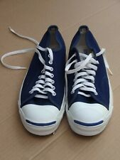 Vintage Converse Jack Purcell Sneakers - Made in USA - Navy Blue US 9.5 9 1/2