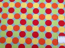 Print fabric(Colorful Spots)  Per Metre