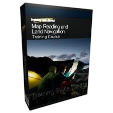 Lettura della Mappa di navigazione fotografie aeree formazione GPS