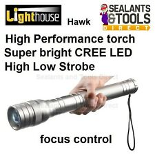 Lighthouse Hawk 3D High Quality Adjustable Torch Super Bright CREE LED - EHAWK3D