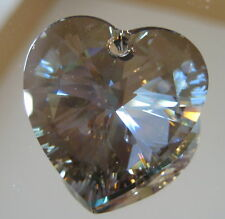Swarovski Bronze Heart Ornament Pendant Suncatcher 28mm