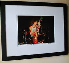 Guns N Roses 1985 fine art photo Paradise City Slash 1st Les Paul signed 14/100