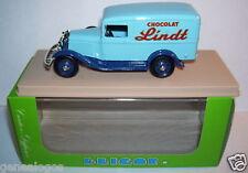 Eligor Ford V8 Van 1934 Lindt Chocolate Blue Box