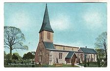 St Stephens Church - St Albans Photo Postcard 1909