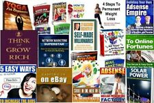 Set of 20 BEST selling (eBooks-PDF files) on Ebay