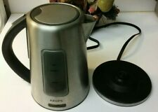 Krups Stainless Steel Cordless Electric 1.7L Kettle w Blue Light》Bw399050