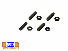 VW T1 BEETLE BUG T2 BAY CAMPER VAN ROCKER TAPPET ADJUSTING SCREW & NUTS x 4 A565