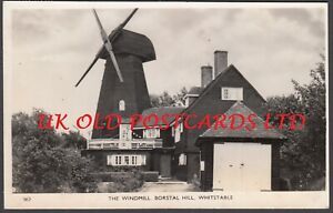 Kent -  WHITSTABLE, Old Windmill, Borstal Hill,  Real Photo.