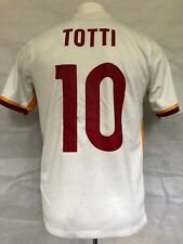 AS Roma Football Shirt 2015-16 Away Totti  10 (Excellent) M Soccer 235475313