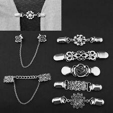 11x Pins Pullover Kette Kreative Strickjacke Clip für Kleid Kleidung Zubehör