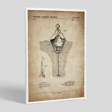 Water Buoy Patent; Patent Poster, Unframed, Nautical Decor, Patent Artwork