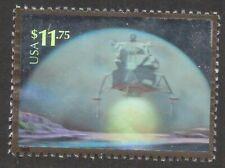 Scott #3413 Used Souvenir Sheet Single, Landing on the Moon