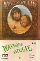 Waylon Jennings & Willie Nelson .. Waylon & Willie.  Import Cassette Tape