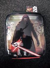 Disney Star Wars The Force Awakens Rectangular Lunch Bag  Red School Picnic