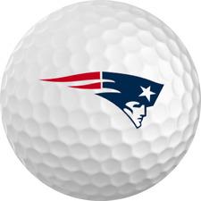 New England Patriots Titleist ProV1 Refinished NFL Golf Balls 12 Pack