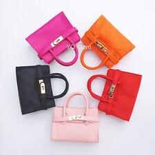 5 PCS ! Baby Girls Metal Buckle Handbag Kids Shoulder Crossbody Bag Purse Wallet