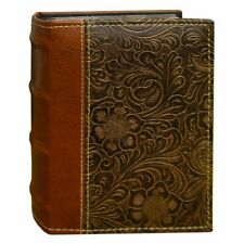 Pioneer Photo Albums 100-Pocket Scroll Embossed Sewn Leatherette 2-Tone Cover