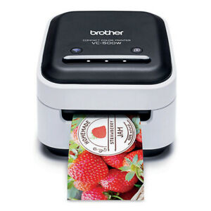 Brother VC-500W Colour Label Printer, for PC or MAC, WiFi & USB, full colour
