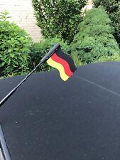 Fahne Deutschland Antenne Aufsteckbar Deutschland Wetterfest 3 Stück  Bis 50 Kmh