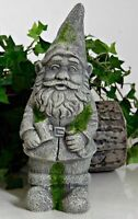 Garden Gnome Elf Statue Heavy Cement Concrete Garden Yard Decoration Ornament
