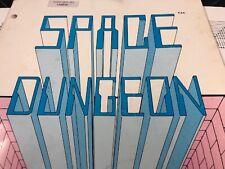 Taito Space Dungeon Arcade Machine Manual With Schematics Free Ship