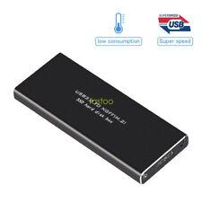 M.2 NGFF (SATA) SSD To USB 3.0 External HD Hard Drive Enclosure Storage Case B