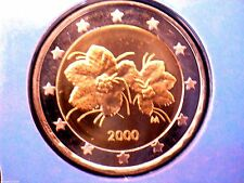 2 euros finlande 2000