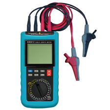 Digital Electric Cable Resistance Tester Cable Wire Length Meter Ohm Up to 30KM