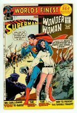 WORLD'S FINEST #204 VF- 7.5 SUPERMAN WONDER WOMAN NEAL ADAMS COVER COMIC 1971