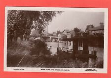 More details for houseboat river ouse & bridge st neots rp pc used 1928 lilywhite ref q58
